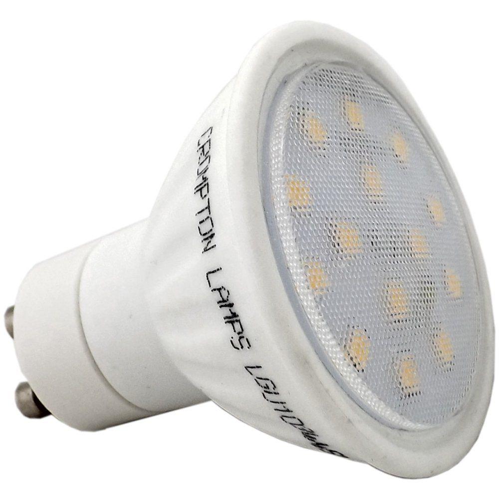 crompton lgu103cwsmd 3 watt smd gu10 led light bulb cool white. Black Bedroom Furniture Sets. Home Design Ideas