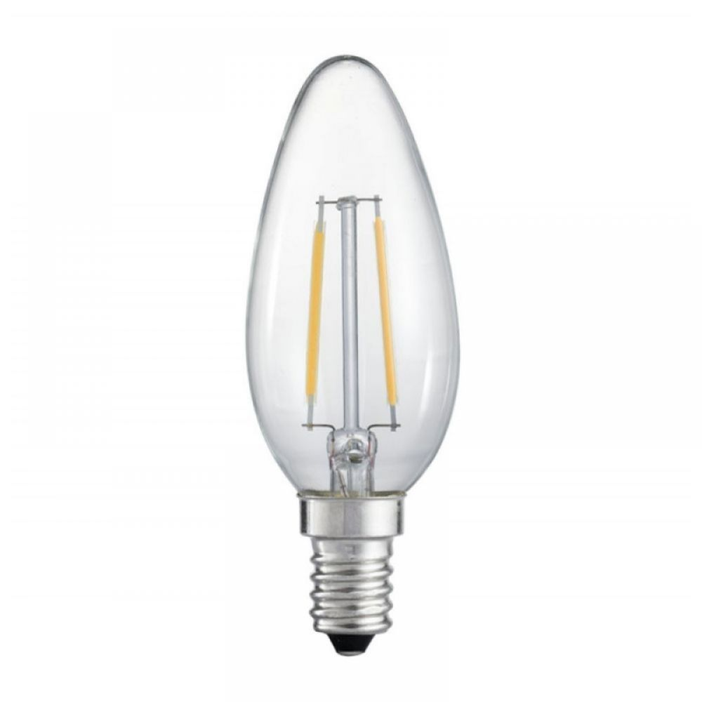 LyvEco 4606 4 watt Decorative Antique Filament Clear LED Candle Bulb
