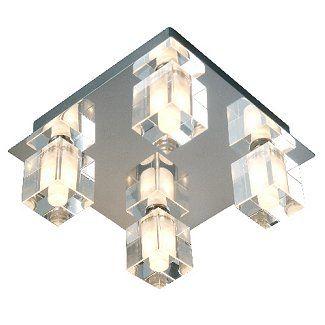 Robus led rcc80 03 crystal cube bathroom ceiling light aloadofball Choice Image