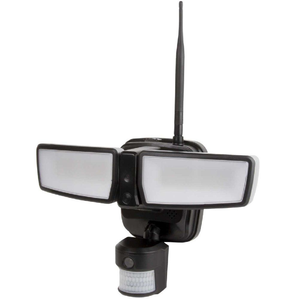 Challenger 6.5 Watt Security Camera With LED Floodlight