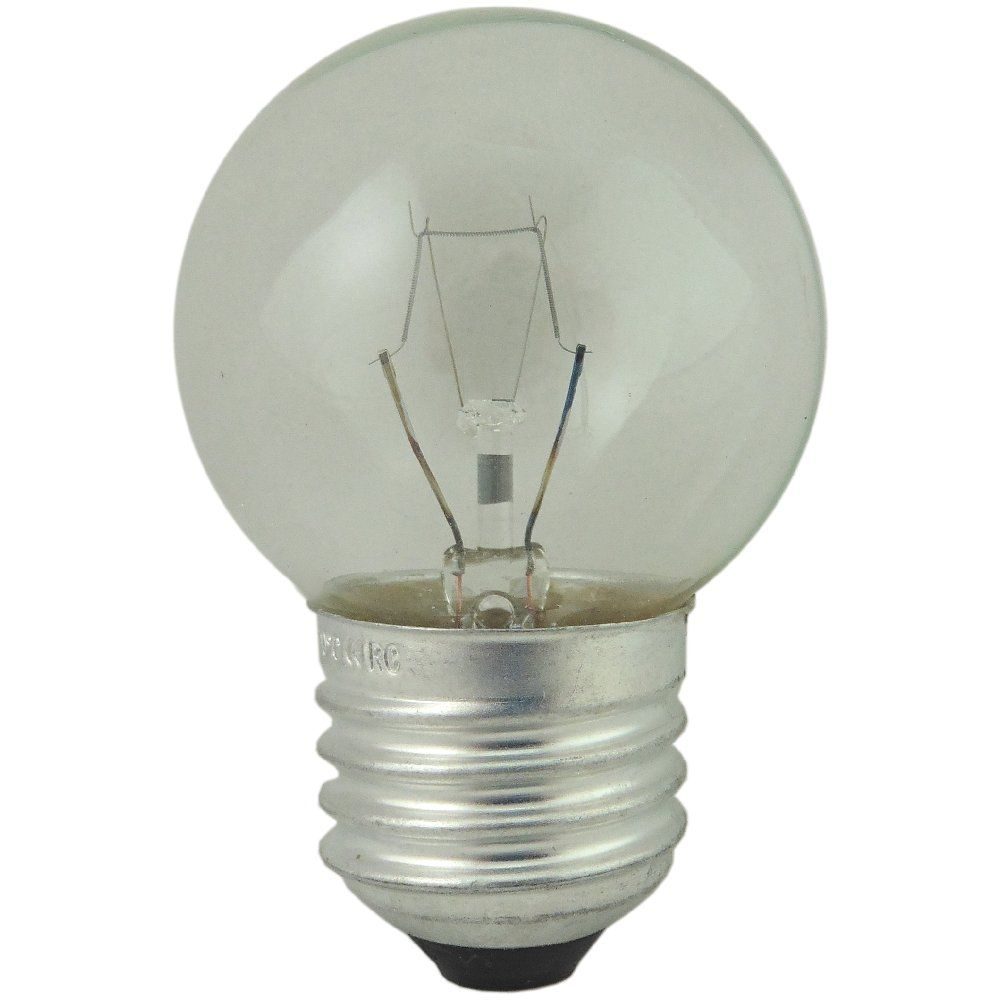 40 watt ES-E27 Clear 300 Degree Oven Light Bulb