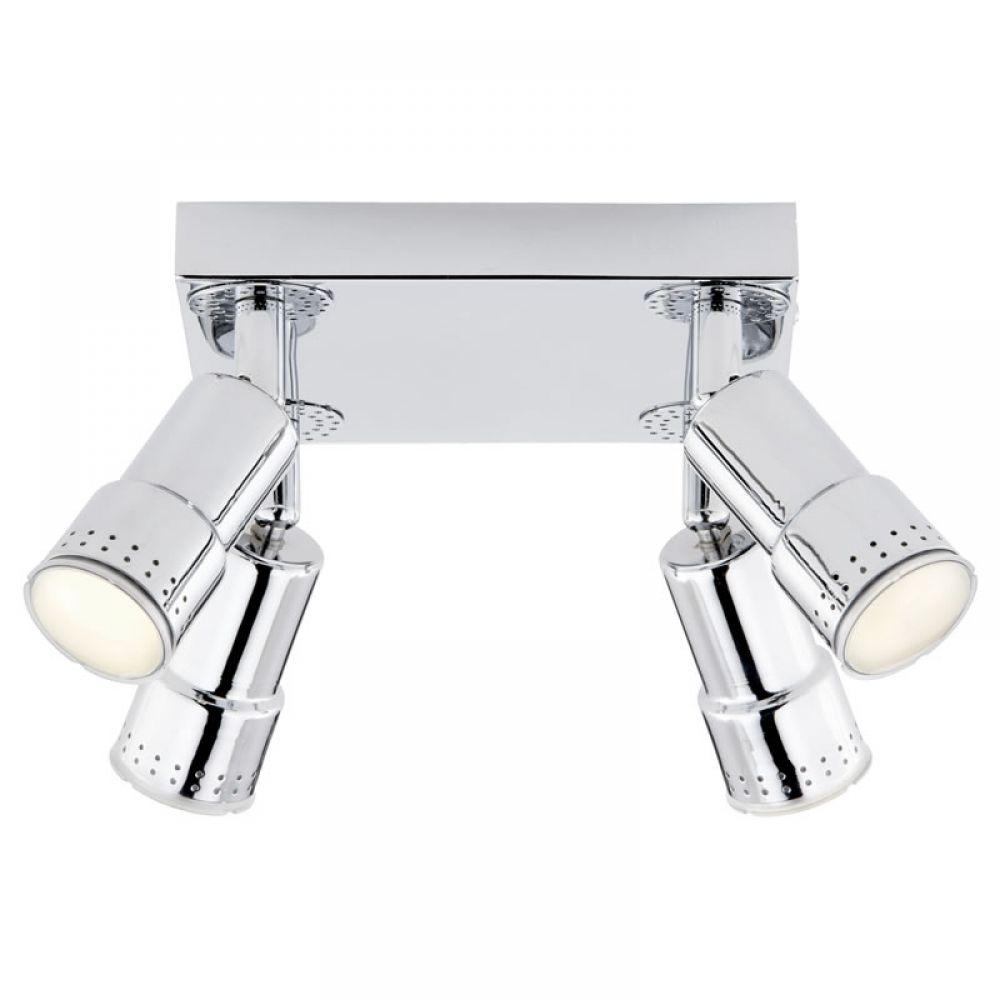 tp24 led light fitting bern 4 way led spot plate ceiling light