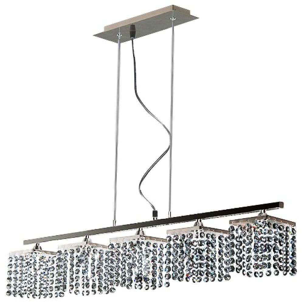 Tp24 6555 leyton 5 way suspended led ceiling light bar mozeypictures Image collections