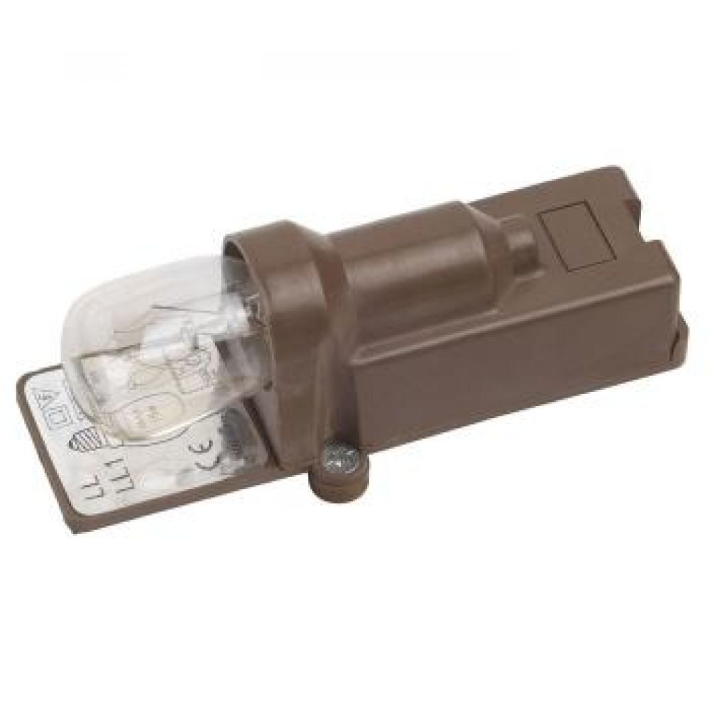 Brown Single Switched Ses E14 Pygmy Light Bulb Fitting