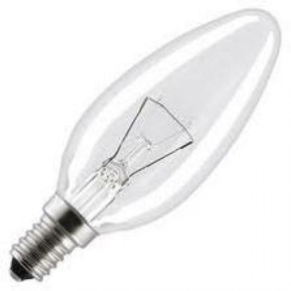 60 Watt Ses E14mm Clear Decorative Incandescent Candle Light Bulb