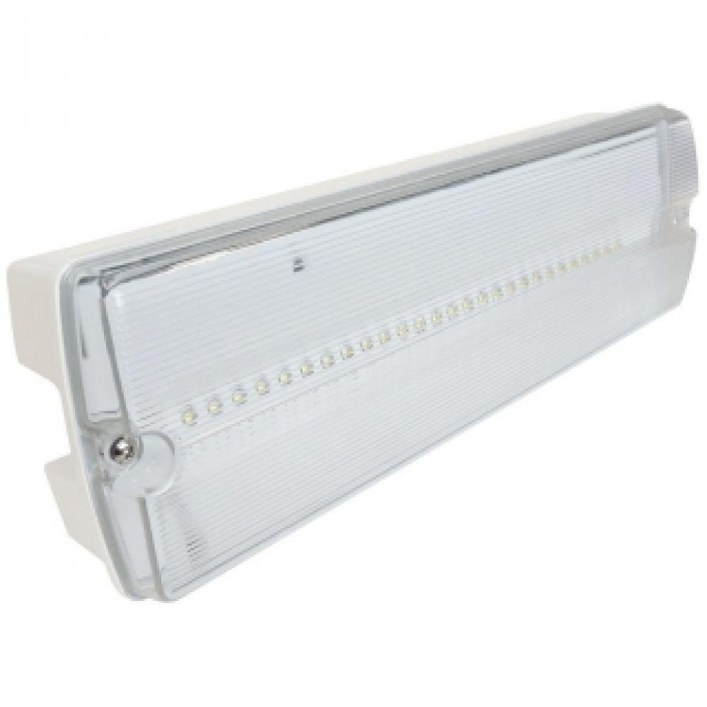 4 x Eterna EMLED3NM LED Bulkhead Emergency Light Fitting Non Maintained 2 Watt