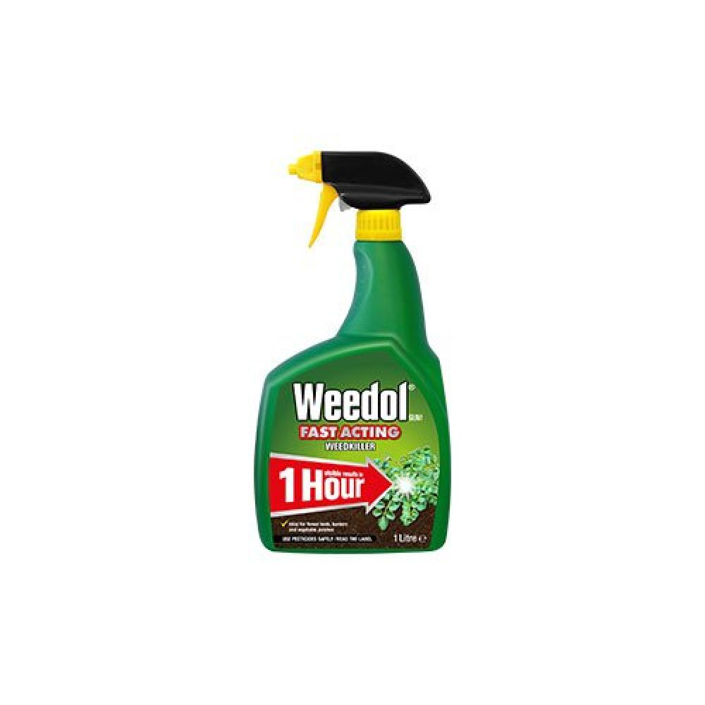 1 Litre Ready to Use Weedol Fast Acting Weed Killer