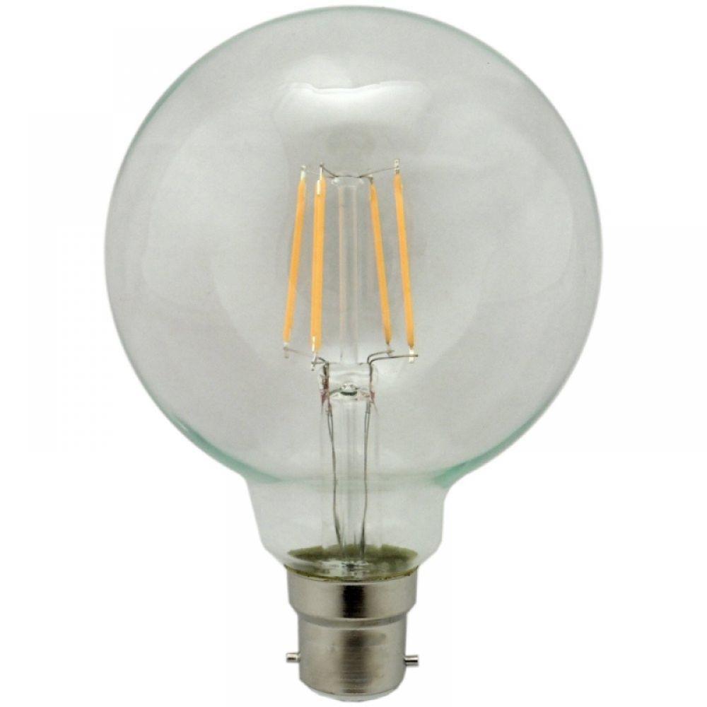 G95 95mm 4 Watt Bc B22mm Led Filament Globe Light Bulb