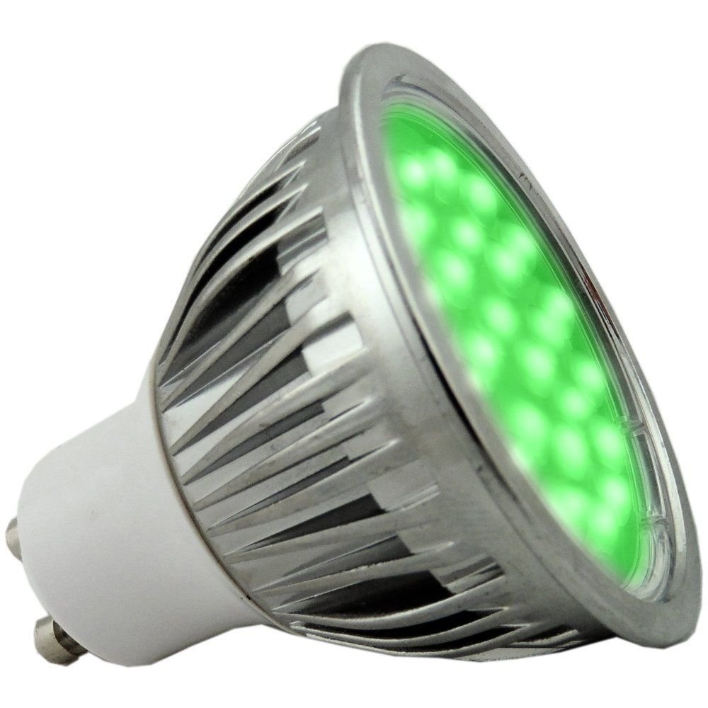 5 watt green dimmable gu10 led light bulb. Black Bedroom Furniture Sets. Home Design Ideas