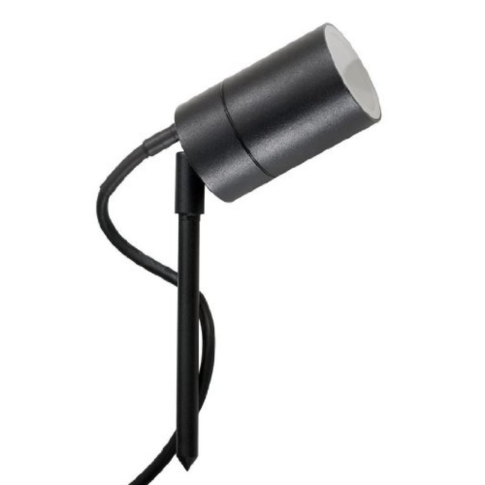Outdoor Spike Light Stylish ip44 black garden spike light outdoor fitting workwithnaturefo