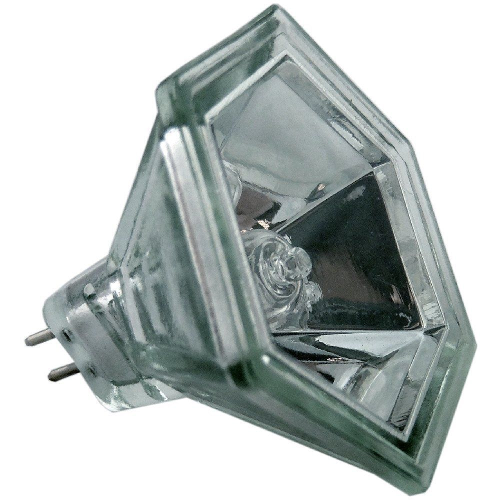 Aurora AU-MR16/50HX 50 watt MR16 Hexagonal Dichroic Halogen Light Bulb