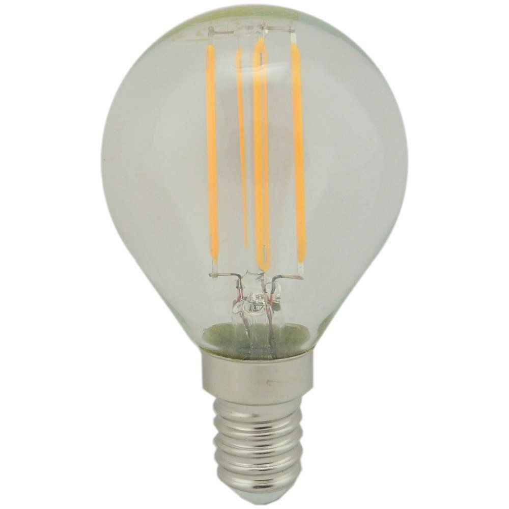 4 watt SES-E14mm 45mm Clear LED Golfball Bulb