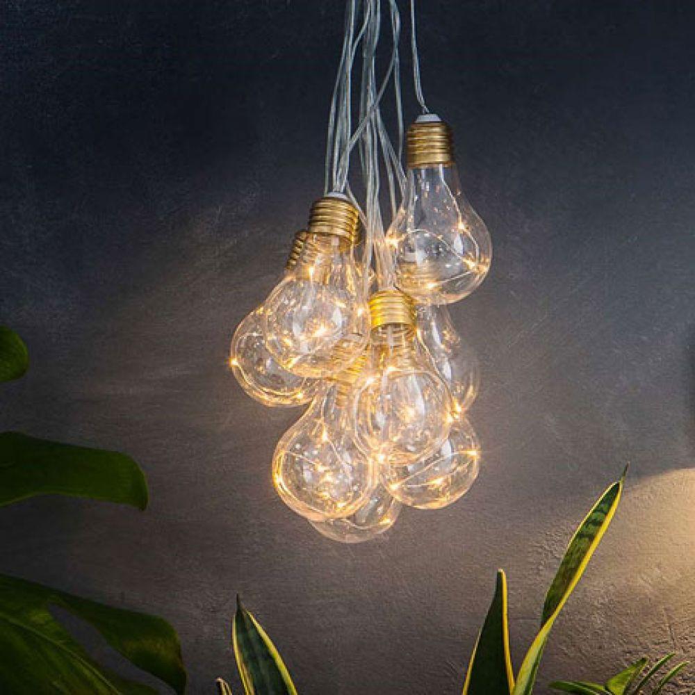 Lumify Outdoor USB and Solar Powered Vintage Festoon Bulb ...