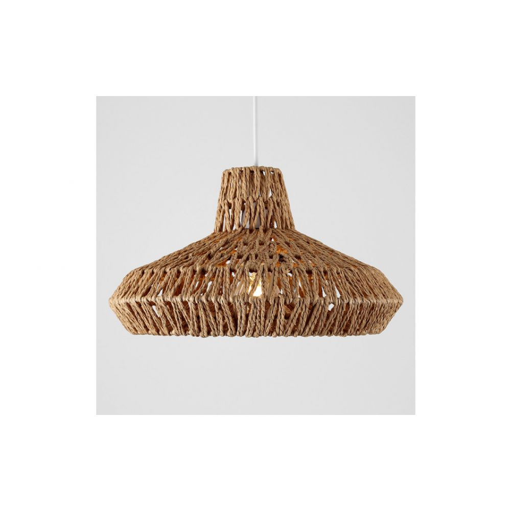 Hamilton natural weave pendant lamp shade aloadofball Images