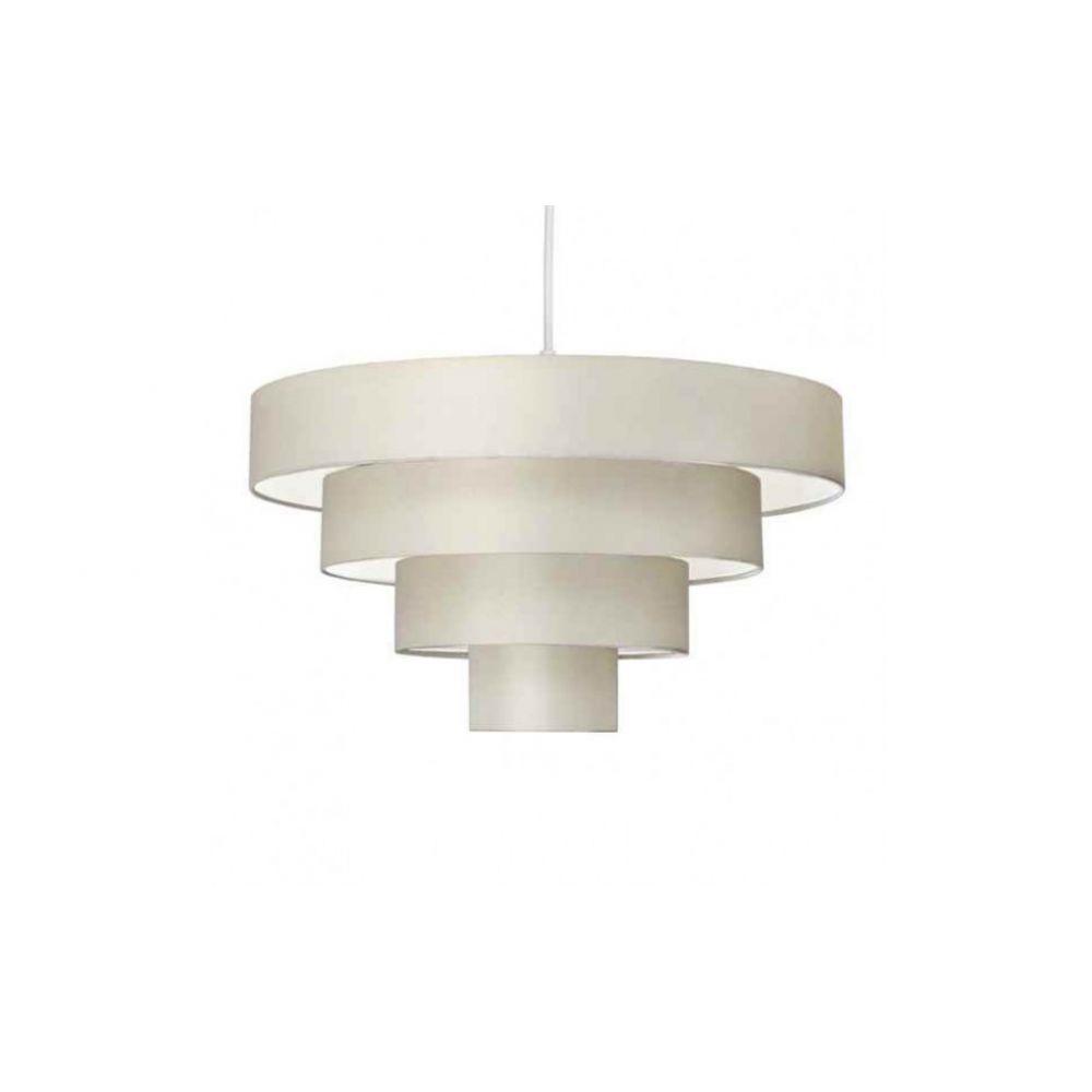 Nevada 4 tiered decorative cream pendant lamp shade aloadofball Gallery