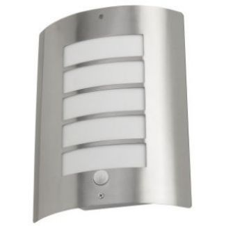 Stainless steel ip44 rated avon outdoor security light with sensor aloadofball Choice Image