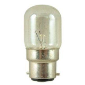 5x 15W Pygmy Light Bulbs Clear Glass B22 B22d BC Bayonet Cap