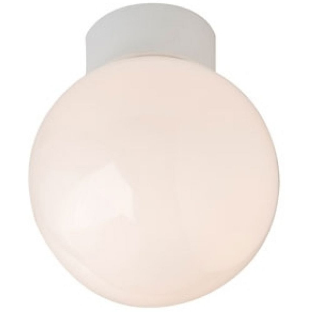 Robus R100sb 100 Watt Bathroom Ceiling Globe Light Fitting