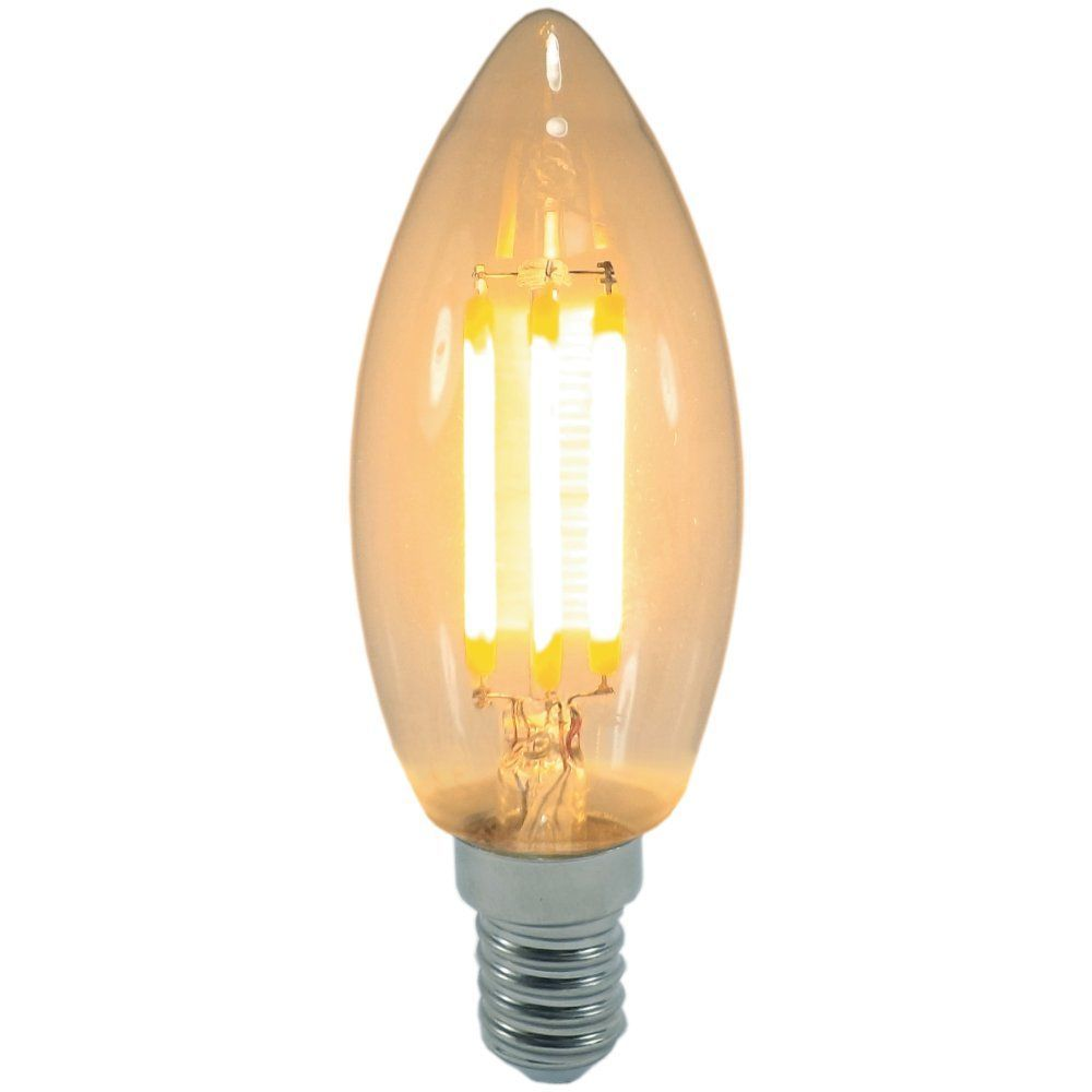 4 watt SES-E14mm Decorative Antique Filament LED Candle Bulb
