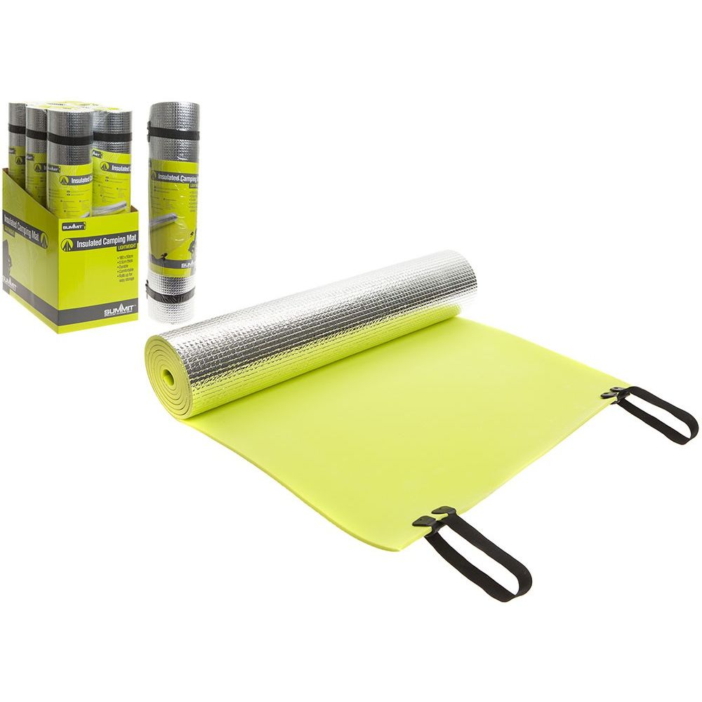 613000 Summit Insulated Camping Mat