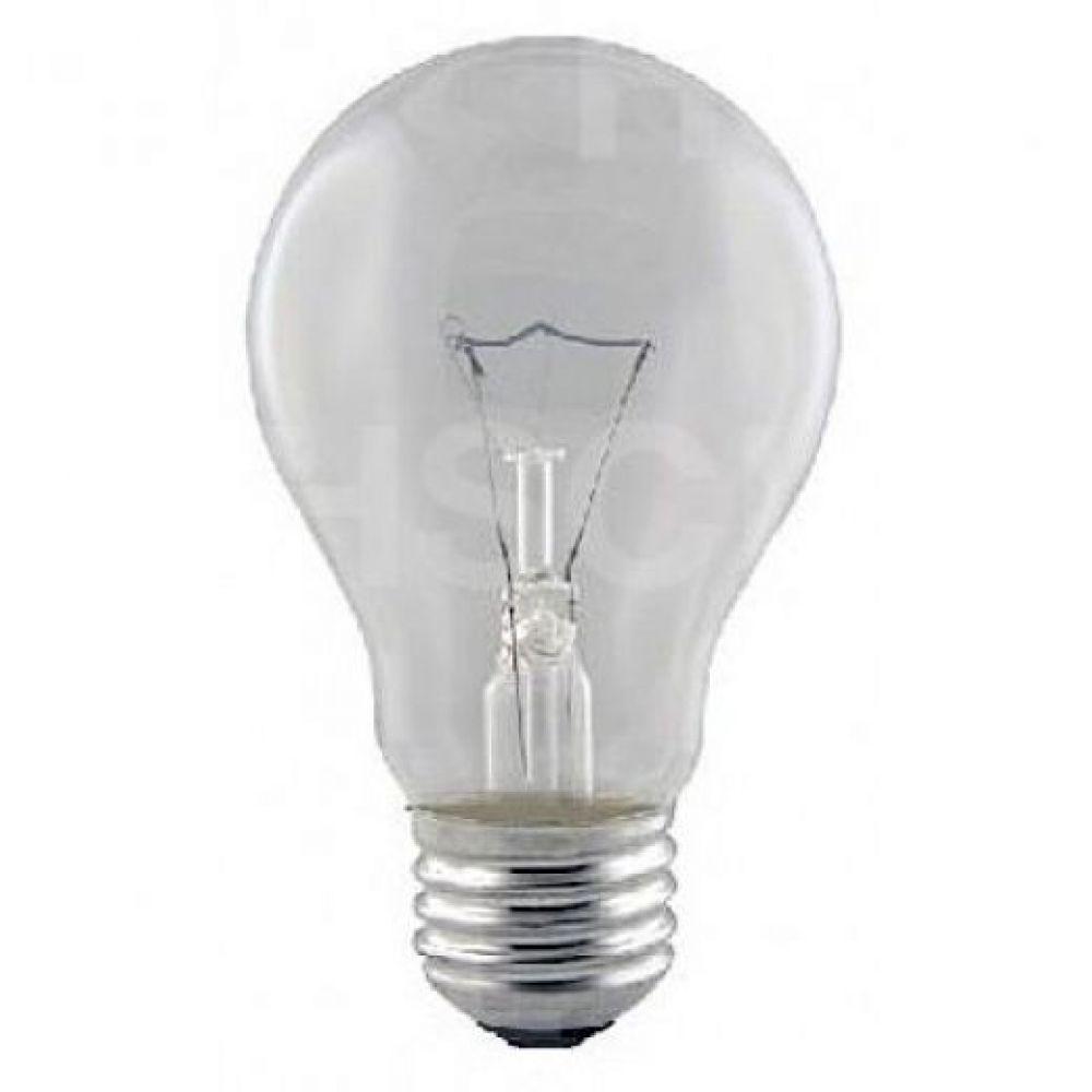 size 40 ef0b0 446a6 15 watt ES-E27 Clear Rough Service GLS Light Bulb