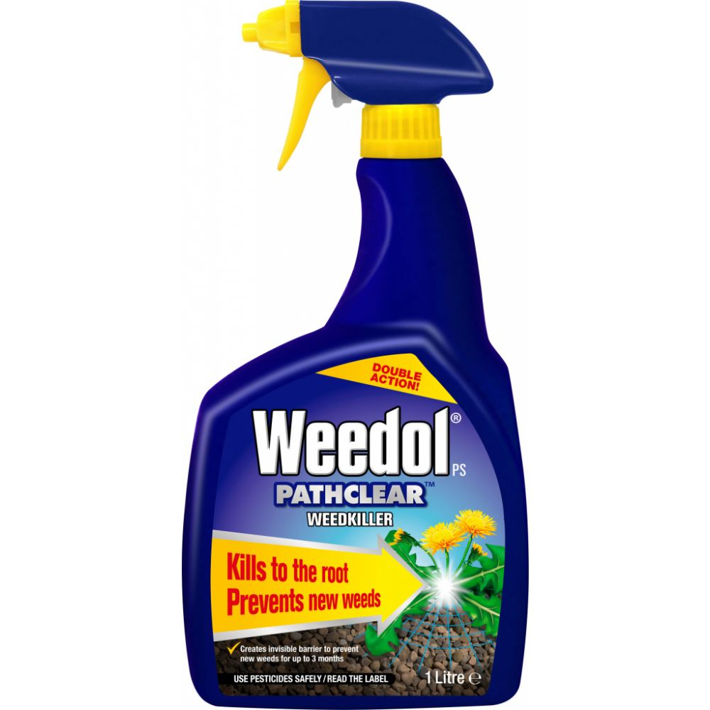 1 Litre Weedol Pathclear Weedkiller Gun