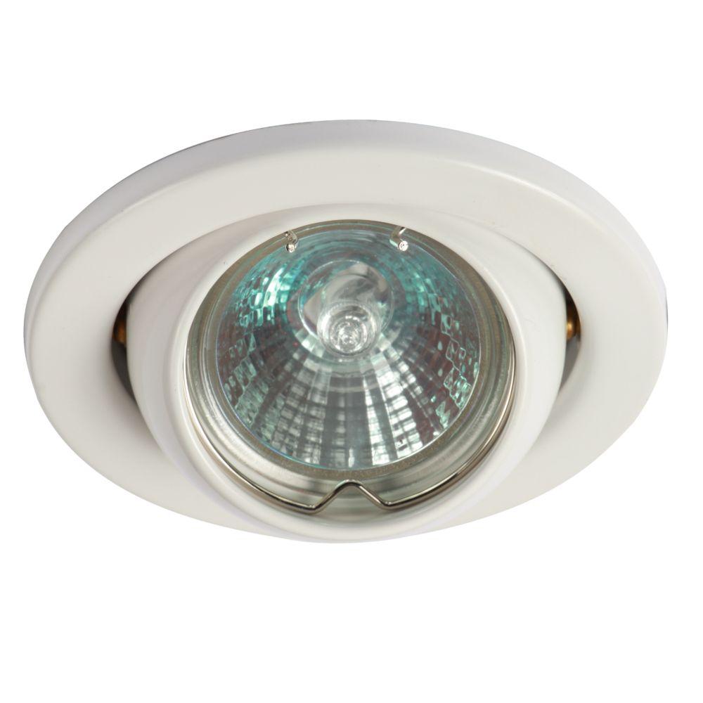 Home Lighting Down Lights Circuit On Rcd: White Low Voltage MR16 Eyeball Downlight