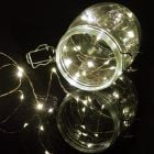 20 LED Copper Wire String Lights Cool White