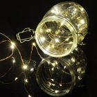 50 LED Copper Wire String Lights Warm White