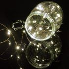 50 LED Copper Wire String Lights Cool White