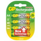 GP AA 2600 NiMH Rechargeable Batteries