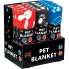 Pet Blankets - Available in Black, Blue and Red