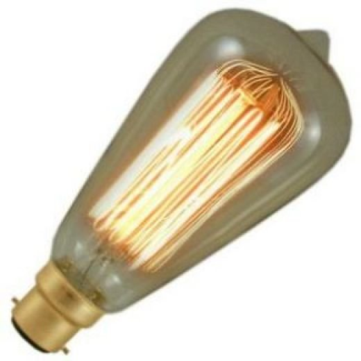 Decorative Antique Bulbs & Fireglow Light Bulbs